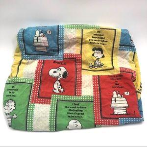 Vintage 70's Peanuts Rare Happiness & Love Sheet